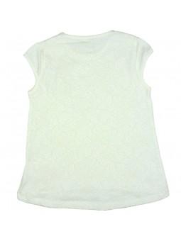 Camiseta con espalda de encaje vista trasera. iDO by Miniconf