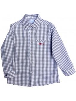 Camisa de cuadros vichy. Foque