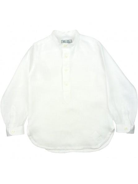 José Varón. Camisa blanca de lino