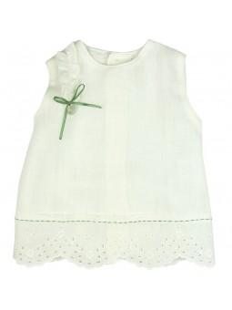 Rochy. Camisa de lino para bebé