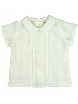 Rochy. Camisa de lino en color crudo