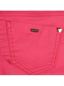 iDO by MINICONF. Jeans fucsia detalle bolsillo