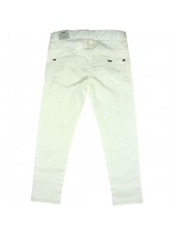 iDO by MINICONF. Jeans blanco vista trasera