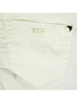 iDO by MINICONF. Jeans blanco detalle bolsillo