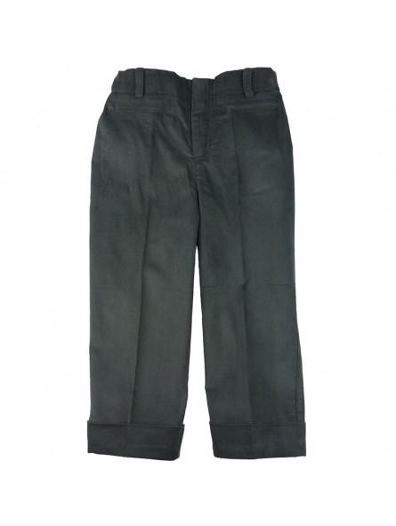 Pantalón de pana con dobladillo