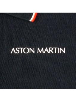 Aston Martin. Polo navy logo
