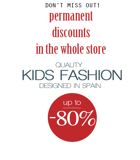 liquidacion moda infantil